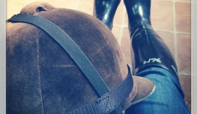 3鞍目―扶助がなかなか馬に伝わらない