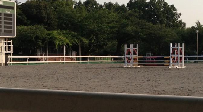 用賀の馬事公苑に行ってきました。