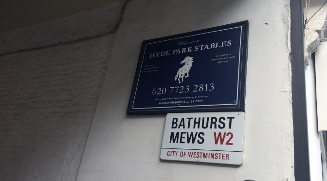 イギリスで乗馬