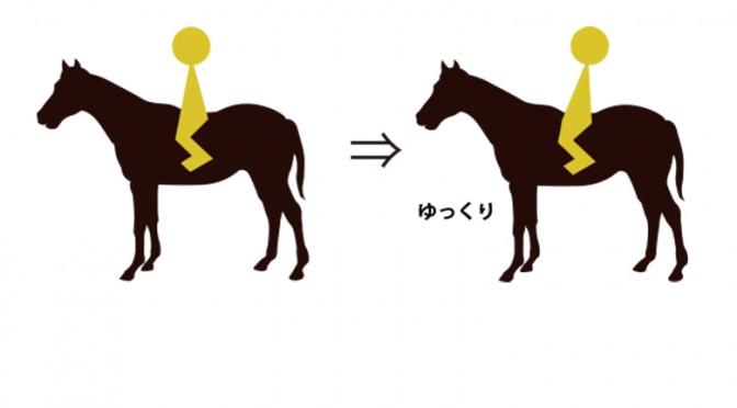 56鞍目①-ゆっくり速歩の練習