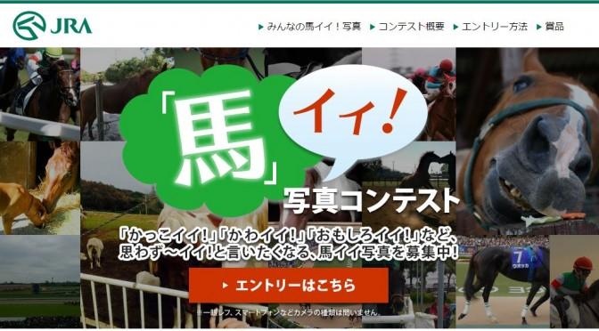 【速報】「馬」イイ!写真コンテスト【応募締切迫る!】
