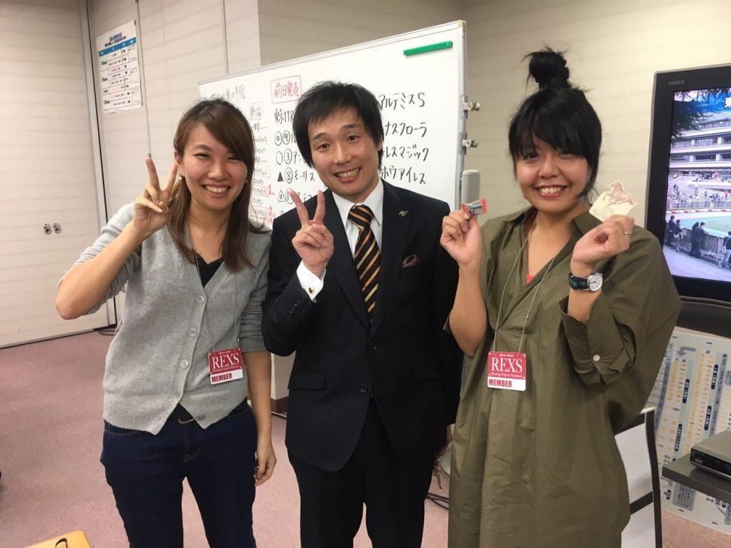 井内利彰さんと記念写真