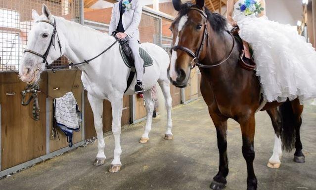 219&220鞍目-結婚後、初めての乗馬