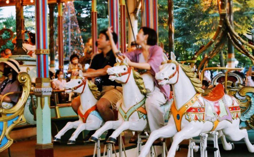 【速報】はじめて乗った馬かも?としまえん『カルーセル・エルドラド』